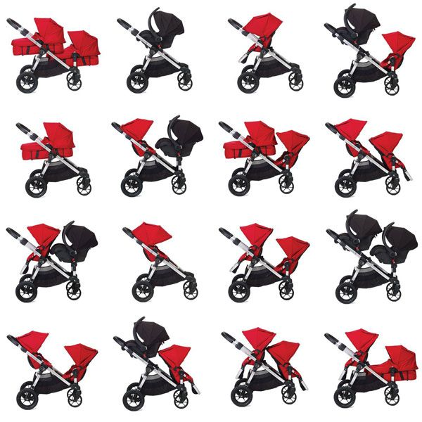 Baby Jogger - City select sitskombinationer